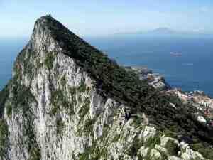 Rock of Gibraltar_wikicommons