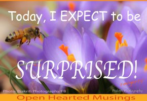 A to Z Blogging Challenge – Spirituality – 5 –EXPECTANCY