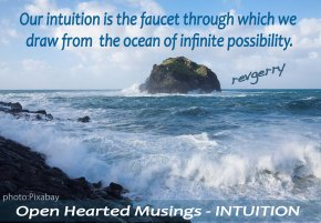 A to Z Blogging Challenge – Spirituality – 8 and 9 – HEART andINTUITION