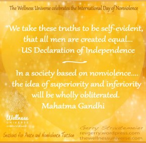 October 2 is UN International Nonviolence Day And Mahatma Gandhi's Birthday