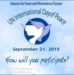 Join In Solidarity: The International Day Of Peace is September 21st!
