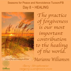 Season for Nonviolence Day 8 – Healing